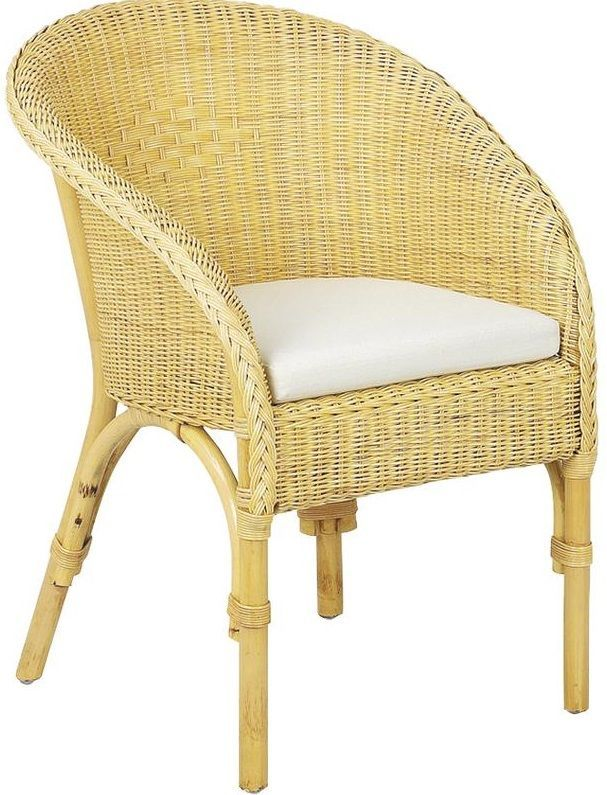 Fauteuil moelle rotin