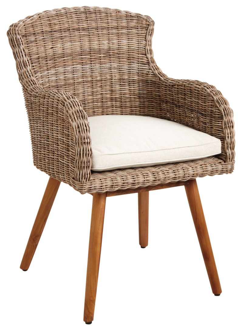 fauteuil en poelet et teck. Black Bedroom Furniture Sets. Home Design Ideas