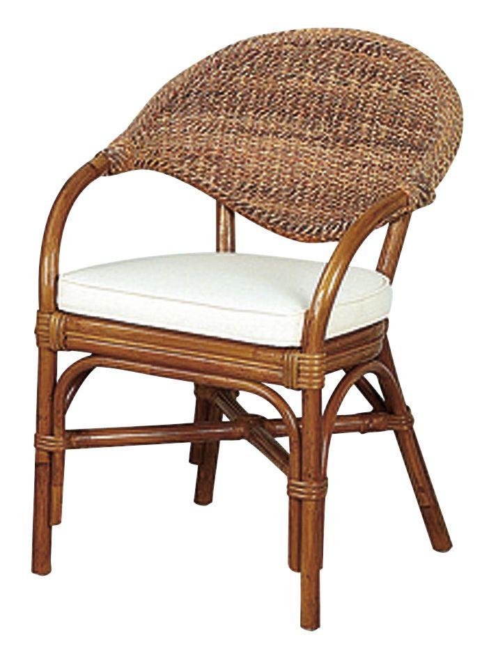 fauteuil en rotin et abaca. Black Bedroom Furniture Sets. Home Design Ideas