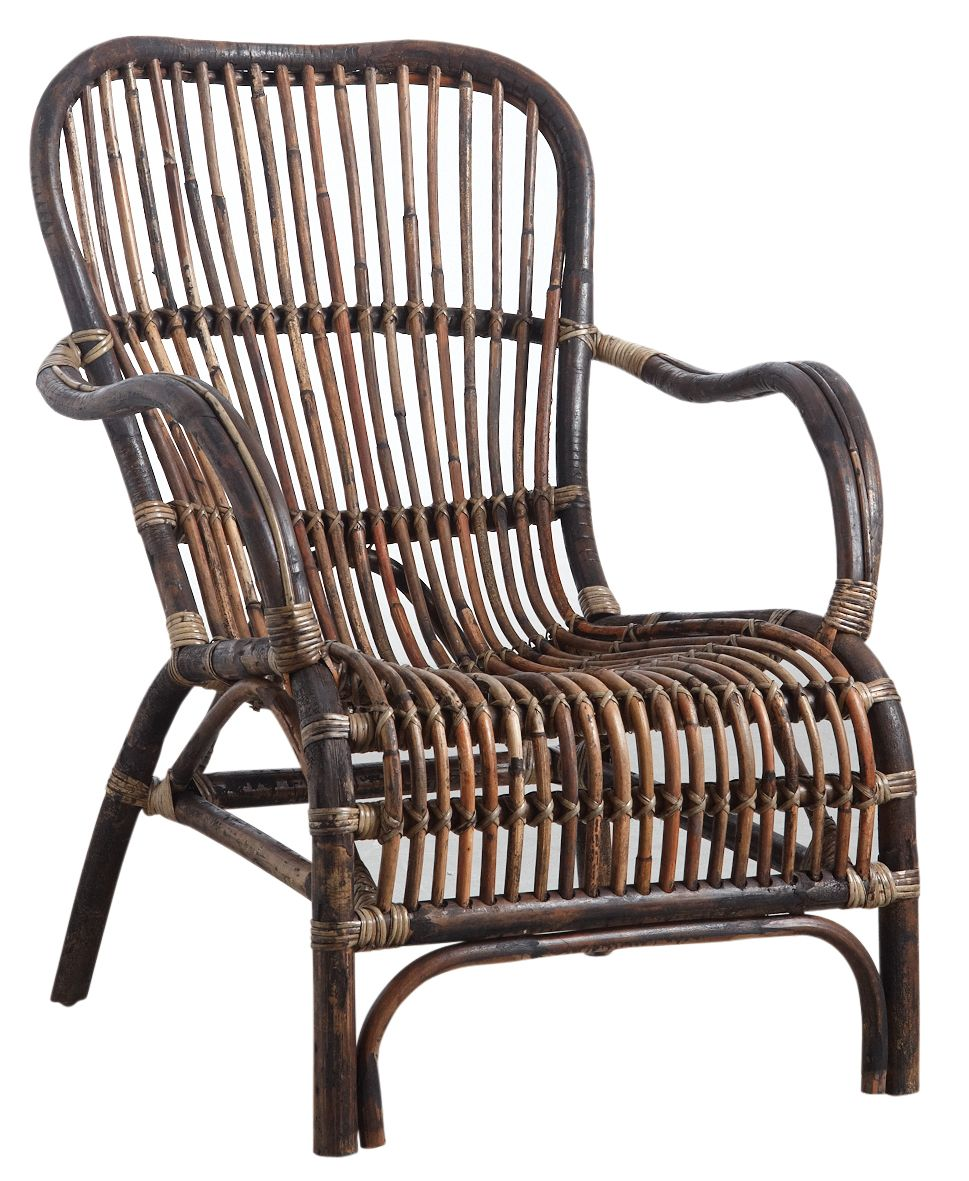 fauteuil en rotin antique. Black Bedroom Furniture Sets. Home Design Ideas