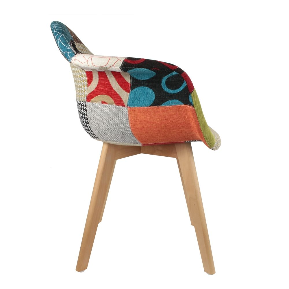 image_Fauteuil scandinave Patchwork