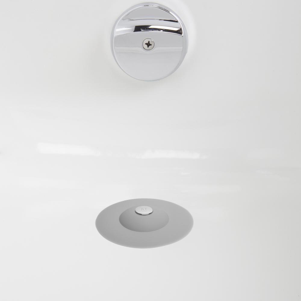 filtre cheveux et bouchon de douche 2 en 1. Black Bedroom Furniture Sets. Home Design Ideas