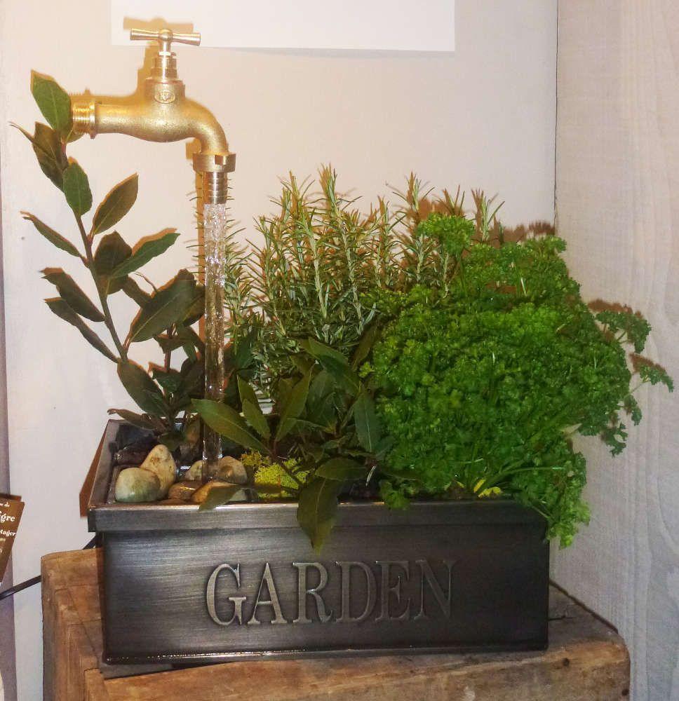 Fontaine garden robinet magique for Brumisateur interieur