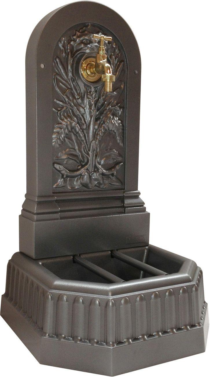 Fontaine ext rieure adosser - Fontaine decorative exterieure ...