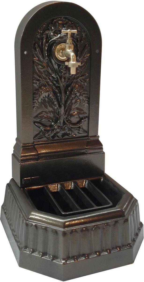 fontaine murale de jardin triton. Black Bedroom Furniture Sets. Home Design Ideas