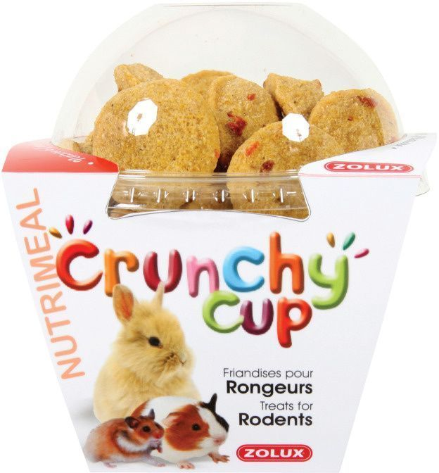 Friandises pour rongeurs Crunchy Cup by Zolux