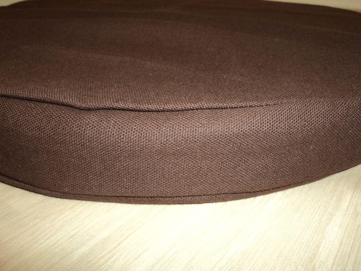 galette de chaise ronde en coton 40 cm. Black Bedroom Furniture Sets. Home Design Ideas