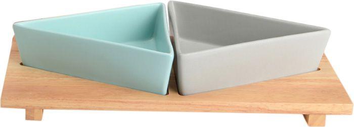 Gamelles design avec plateau for Lot meuble ecureuil