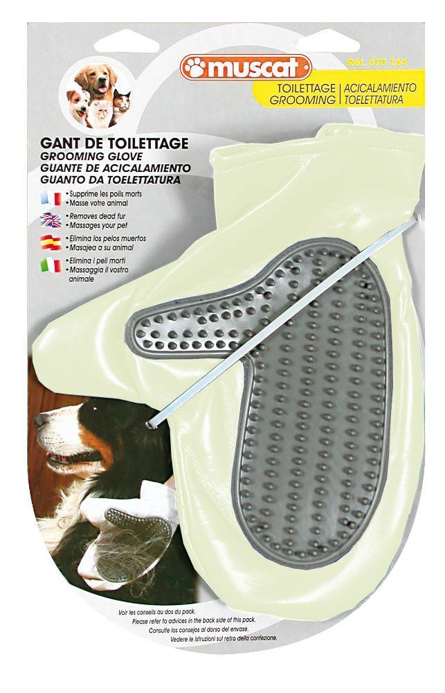 Gant de toilettage Chien ou Chat