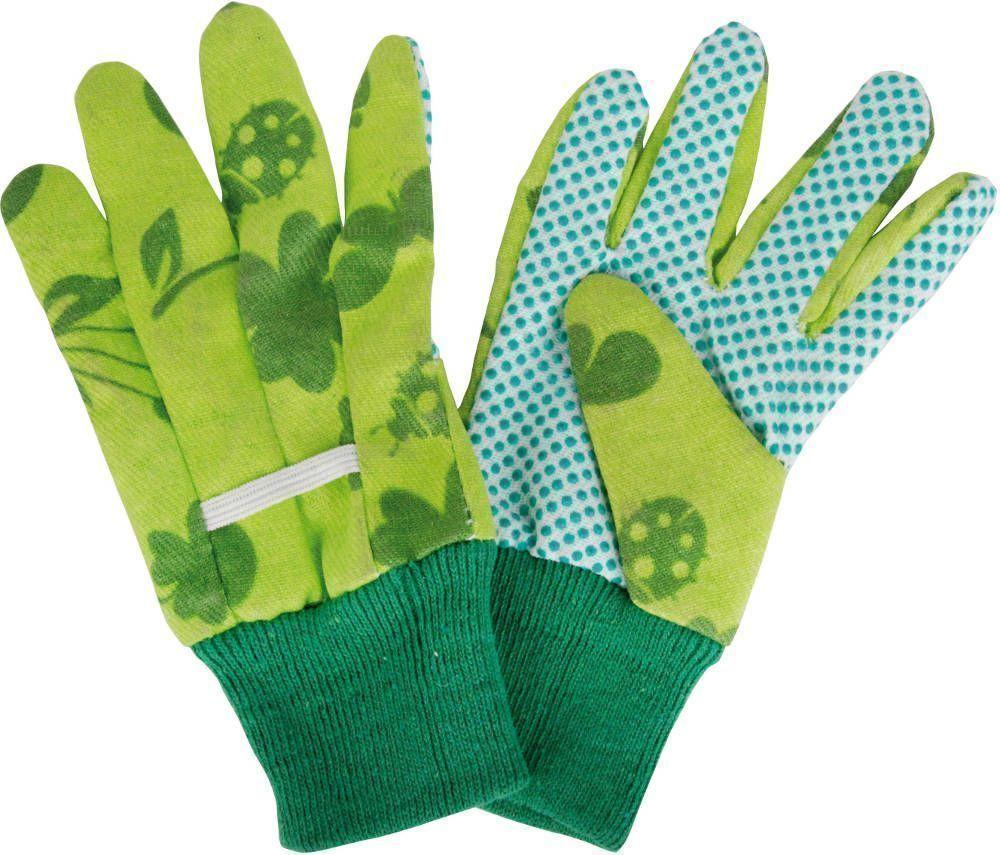 gants de jardinage pour enfant en coton et polyester. Black Bedroom Furniture Sets. Home Design Ideas