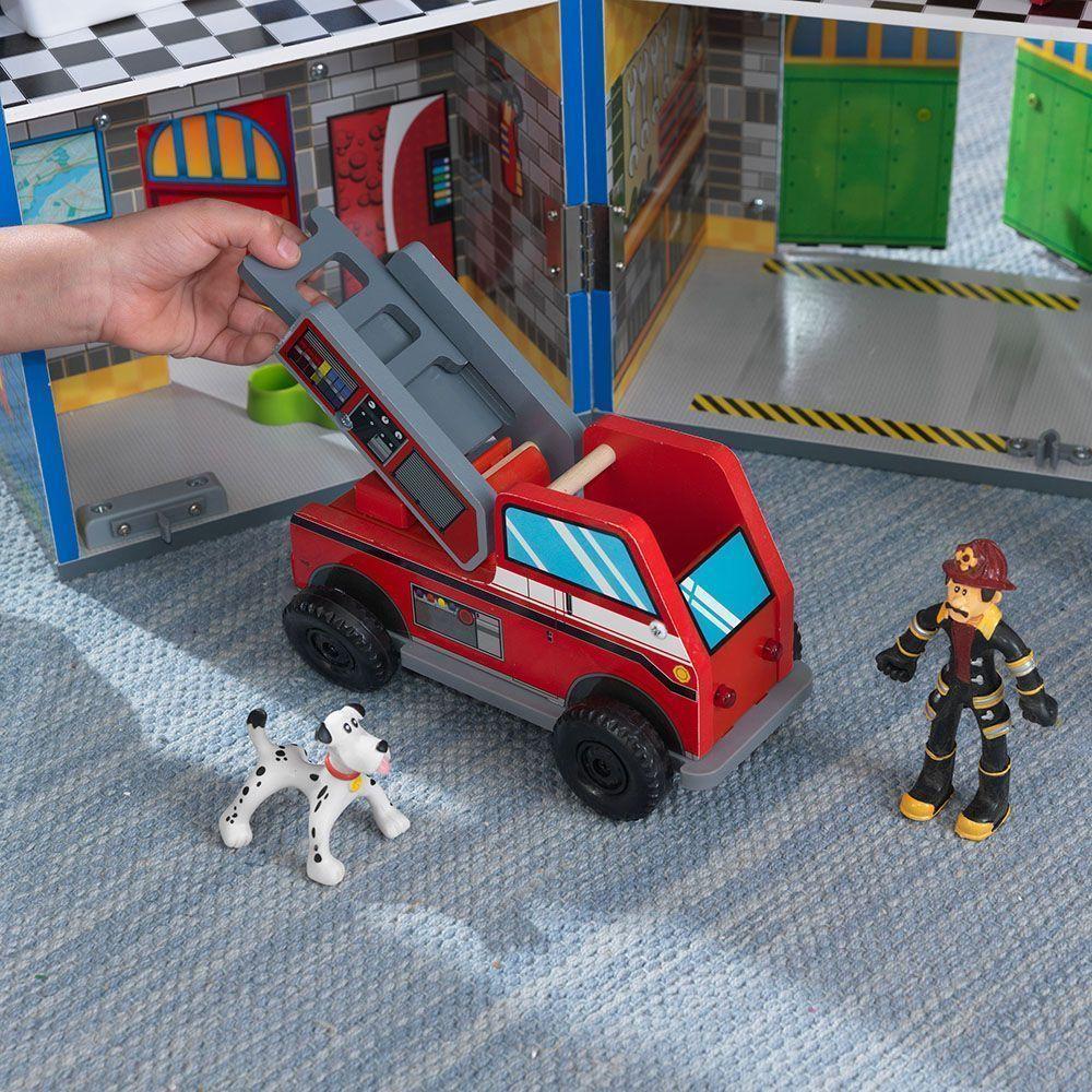 gendarmerie et caserne pompiers pour enfant. Black Bedroom Furniture Sets. Home Design Ideas