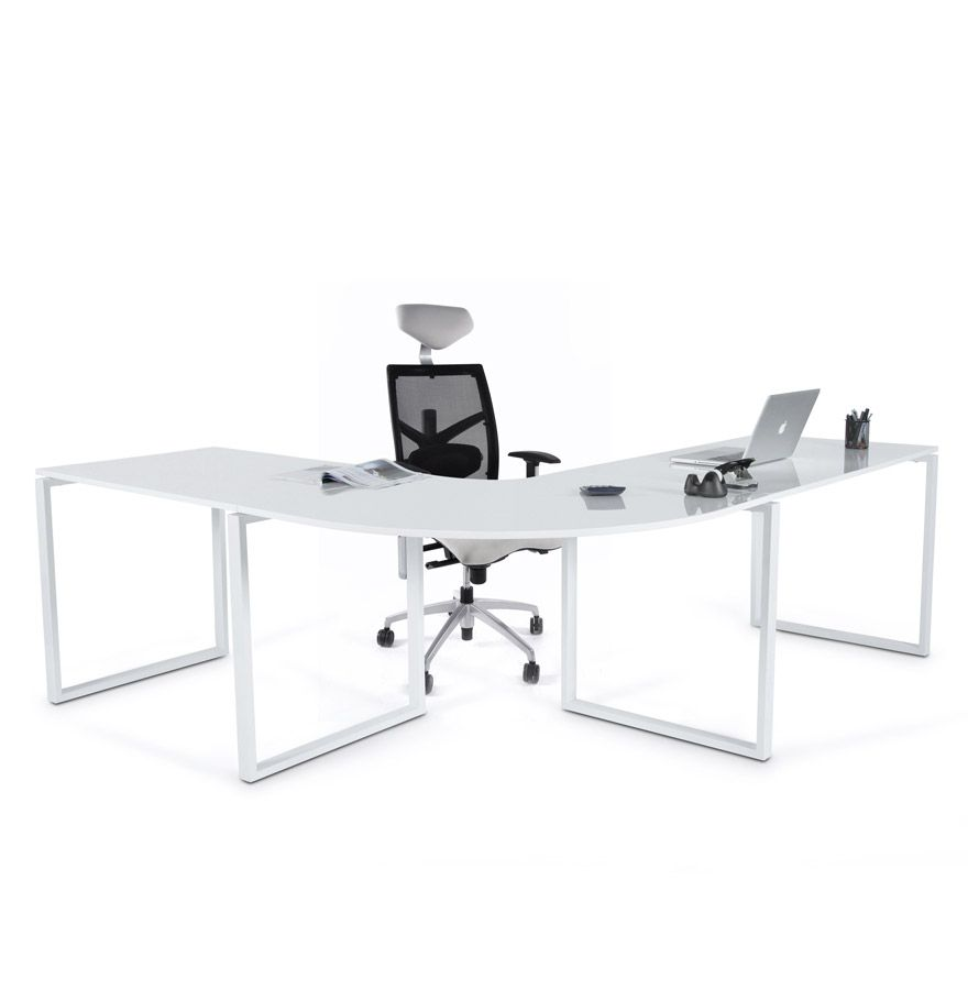 Bureau grand bureaux de grand standing bureau grand luxe for Chaise mullca 511