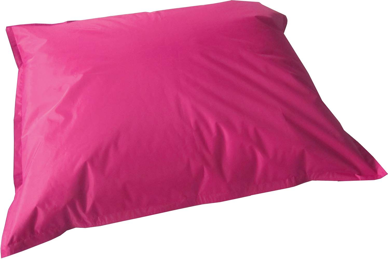 grand coussin uni maxi xl fuchsia. Black Bedroom Furniture Sets. Home Design Ideas
