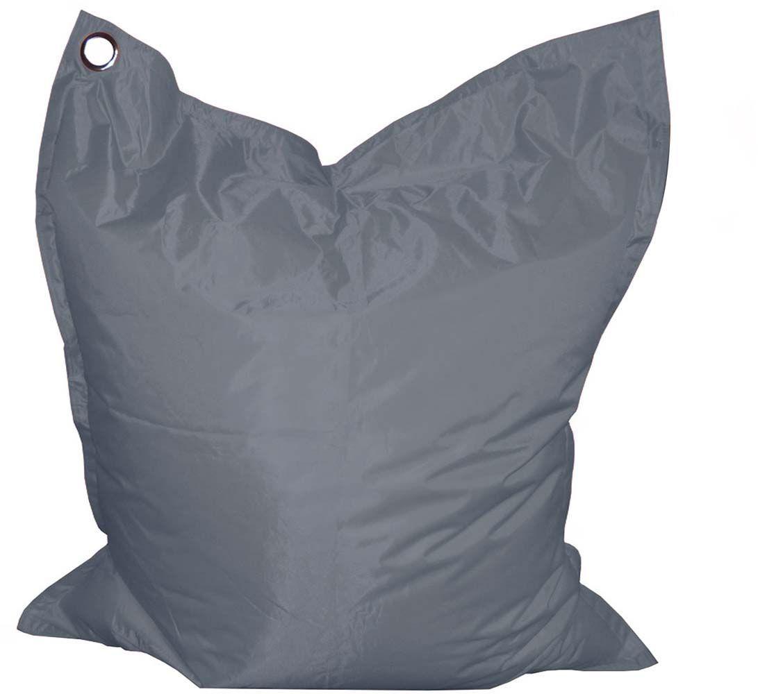 grand coussin uni maxi xl gris anthracite. Black Bedroom Furniture Sets. Home Design Ideas