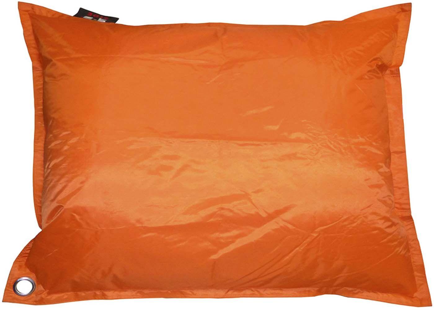 grand coussin uni maxi orange. Black Bedroom Furniture Sets. Home Design Ideas