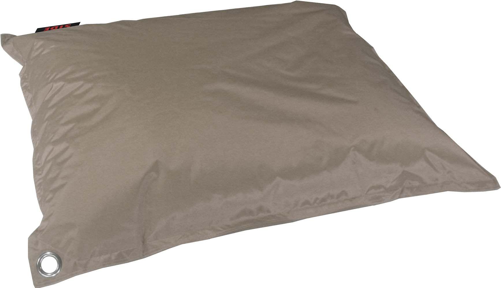grand coussin uni maxi taupe. Black Bedroom Furniture Sets. Home Design Ideas