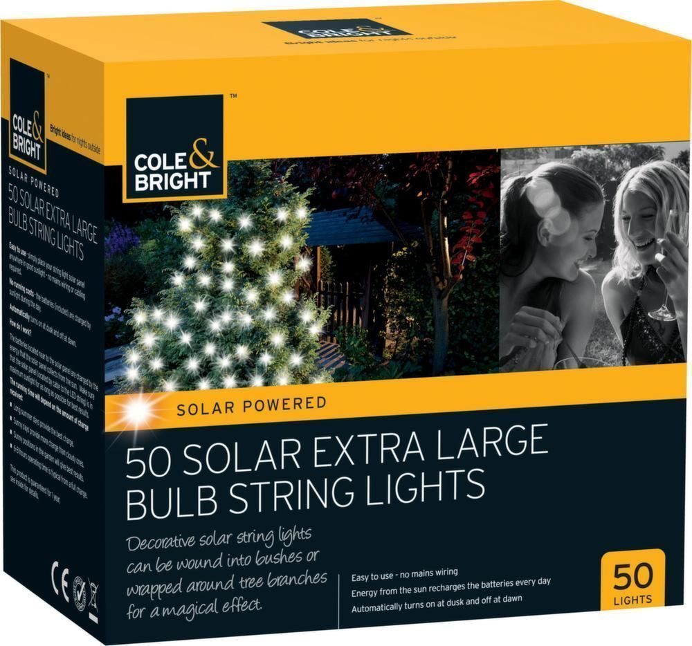 image_Guirlande lumineuse solaire 50 ampoules XL