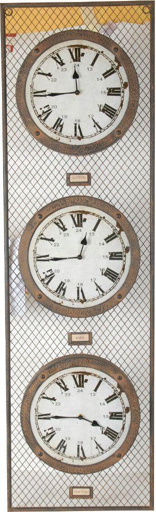 horloge london paris new york. Black Bedroom Furniture Sets. Home Design Ideas