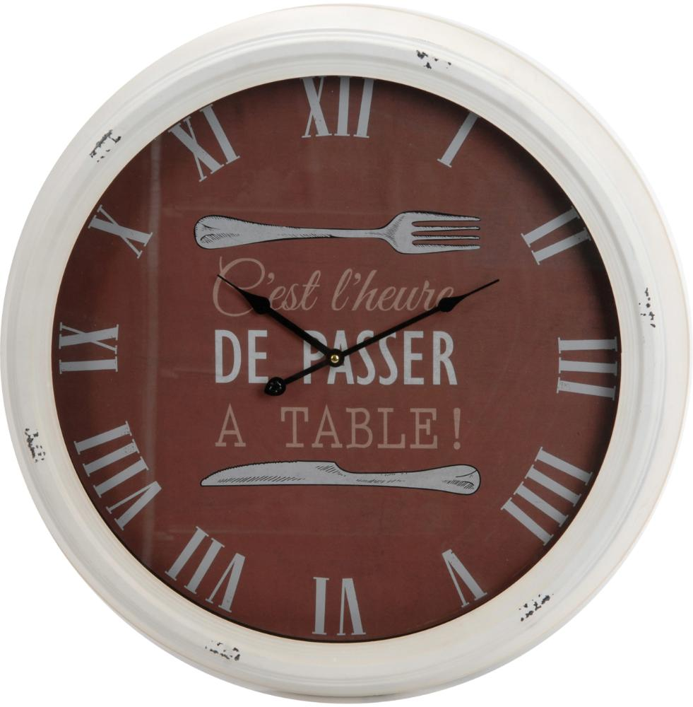 Horloge bistrot A table 63cm by Amadeus