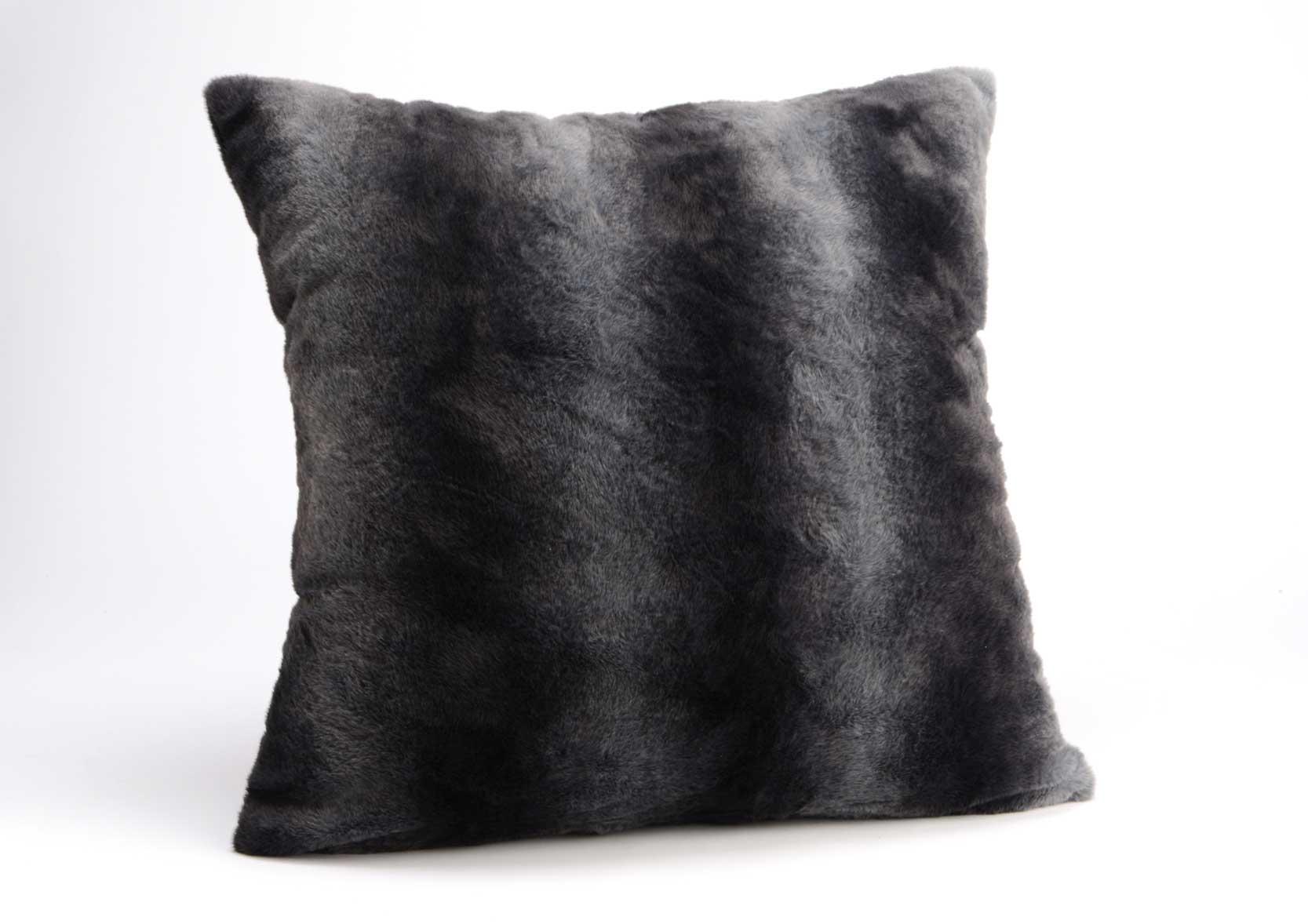 coussin fourrure dandy 60x60. Black Bedroom Furniture Sets. Home Design Ideas