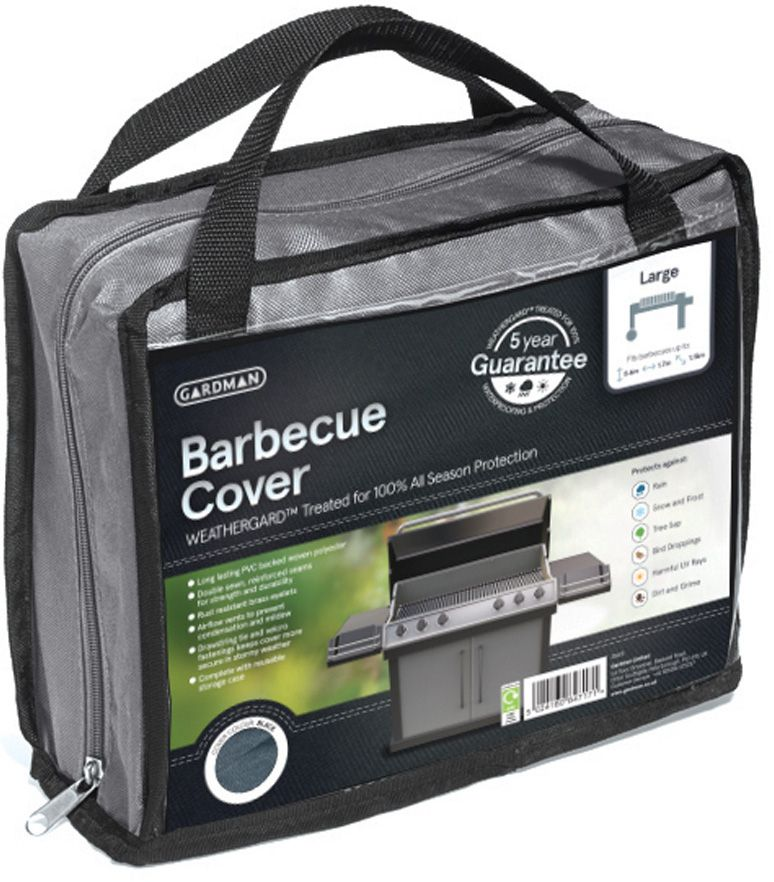 Housse barbecue xl gris for Housse barbecue campingaz xl