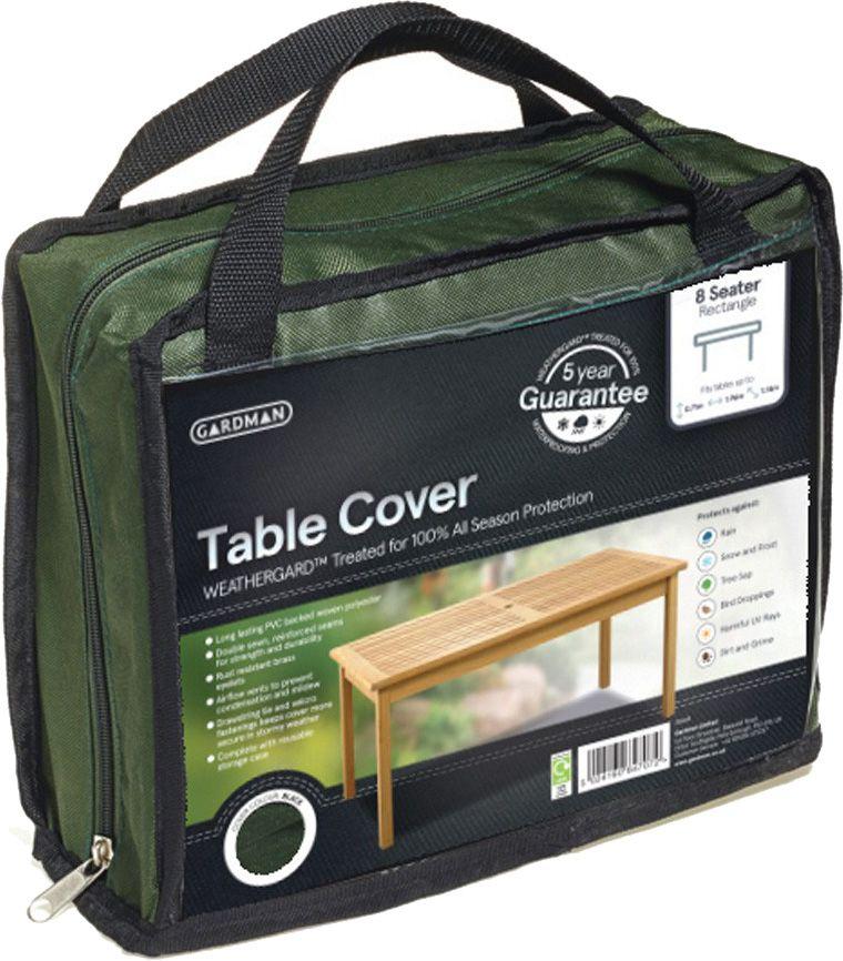 housse table de jardin rectangulaire 8 places. Black Bedroom Furniture Sets. Home Design Ideas