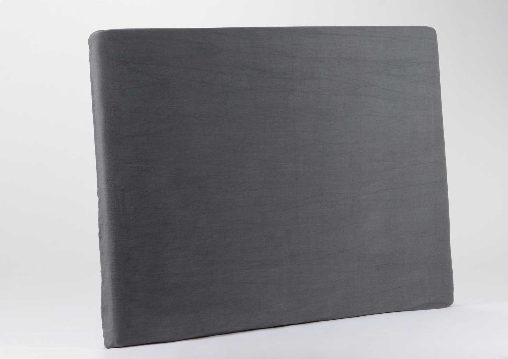 housse en lin et coton pour t te de lit. Black Bedroom Furniture Sets. Home Design Ideas