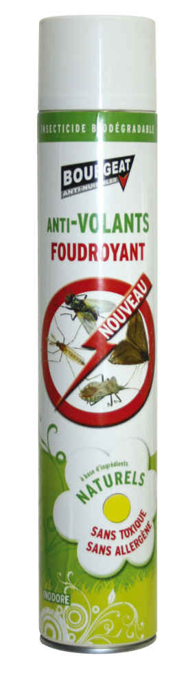 Insecticide Naturel anti Insectes volants 750ml