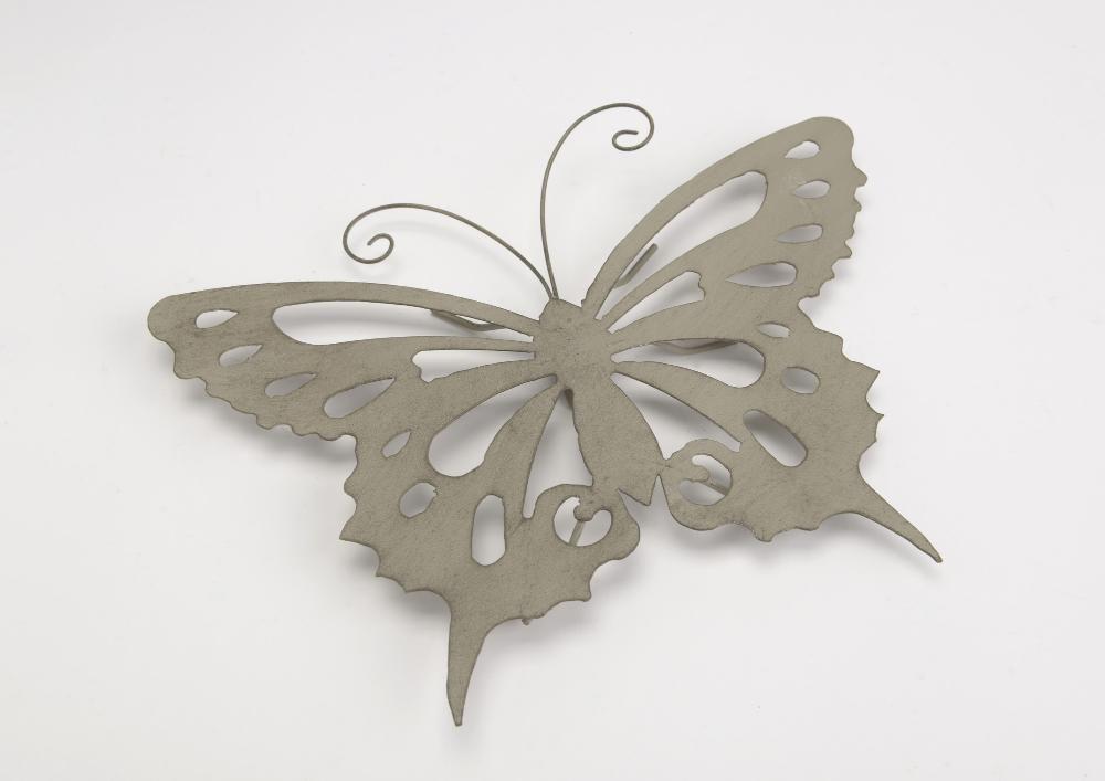 papillon mural en m tal plaque d corative amadeus sur. Black Bedroom Furniture Sets. Home Design Ideas