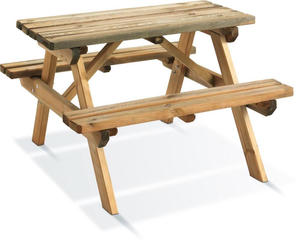 Table pique-nique bois wapiti