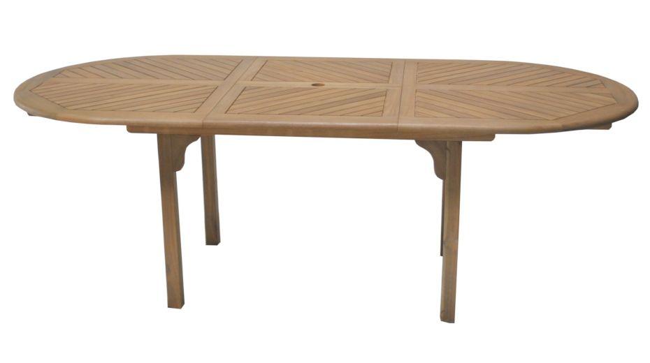 Salon de jardin montevideo 1 table 6 chaises salon en for Table 6 en 1