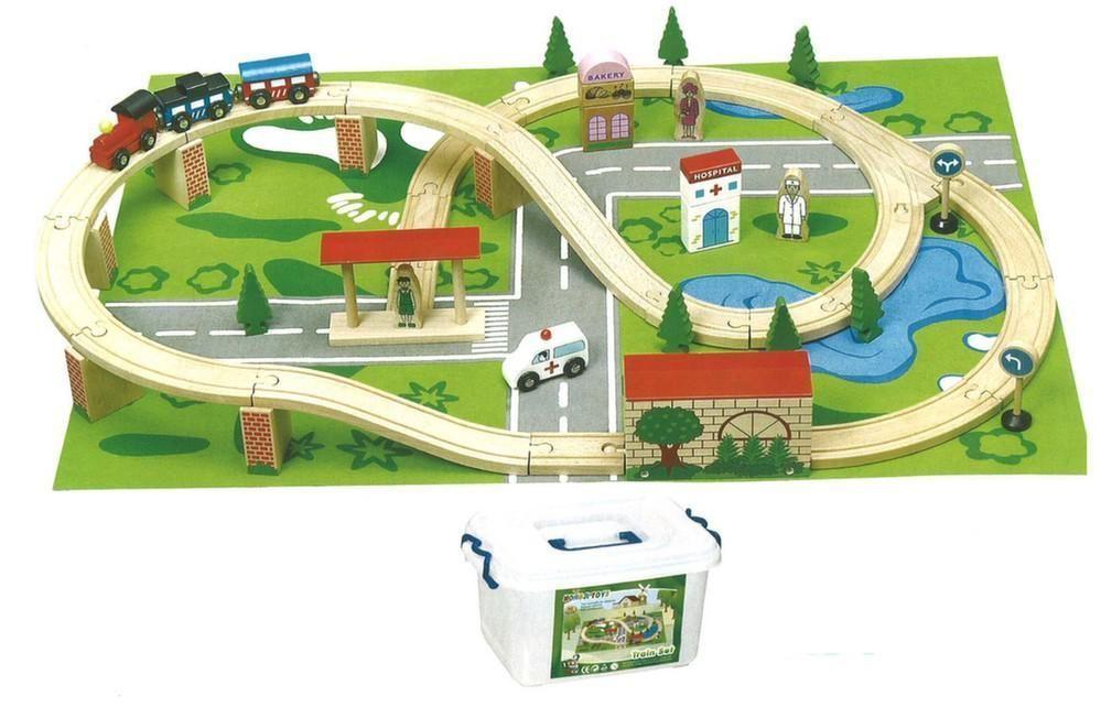 jouet de train circuit la ville. Black Bedroom Furniture Sets. Home Design Ideas