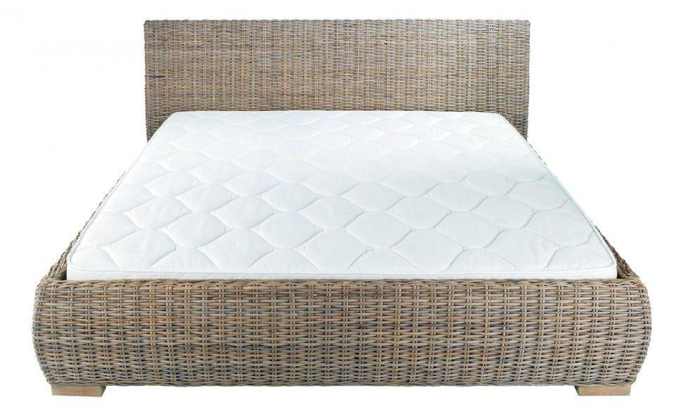lit en rotin kubu lit inwood sur. Black Bedroom Furniture Sets. Home Design Ideas