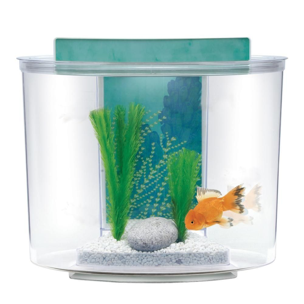 Kit aquarium 15 litres pompe filtre eclairage for Filtre aquarium rond