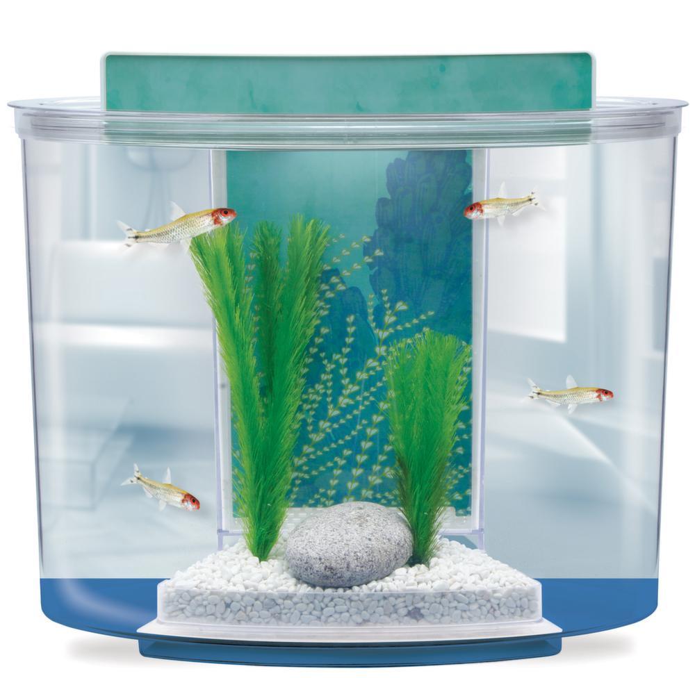 Kit aquarium 15 litres pompe filtre eclairage for Aquarium plastique