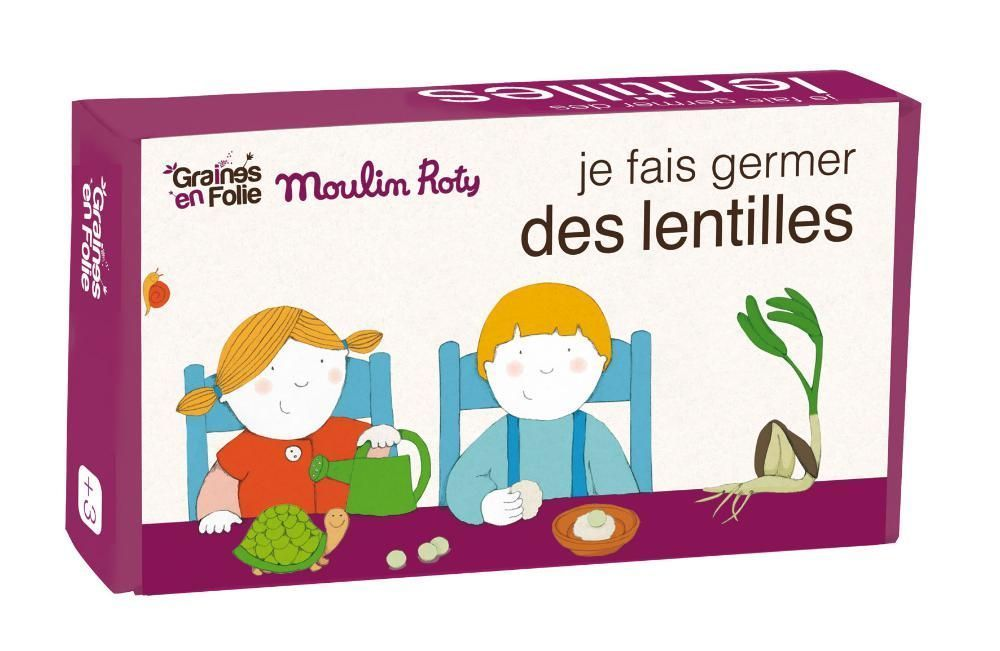 Kit de germination lentille AB