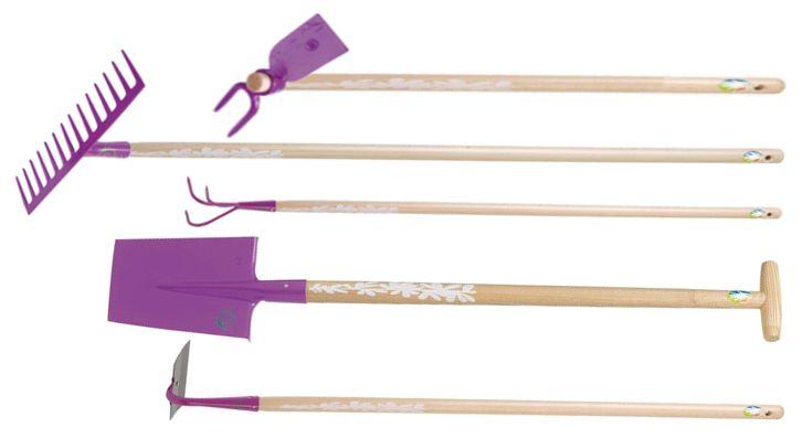Kit Outils Pour Potager Natur 39 Elle