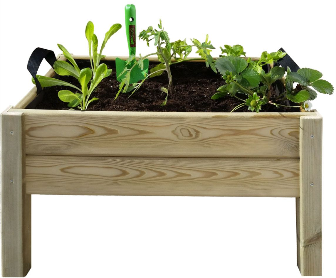 kit potager bac humus plantoir graines et coco. Black Bedroom Furniture Sets. Home Design Ideas