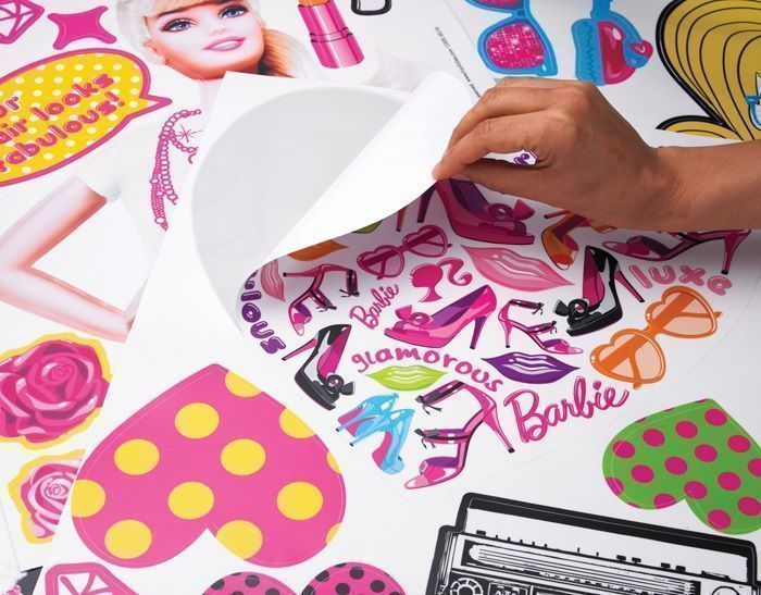 Kit de stickers Barbie-3