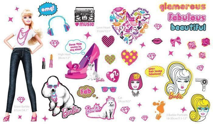 image_Kit de stickers Barbie