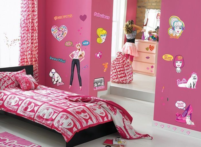 Kit de stickers Barbie-4