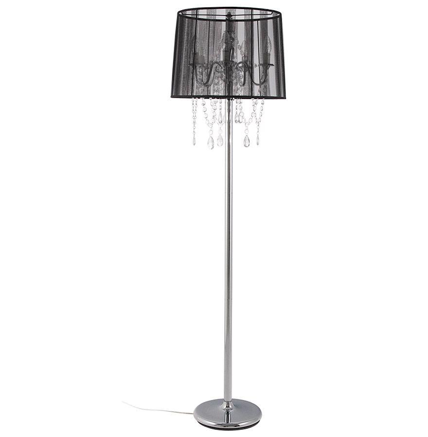 lampadaire design lounge noir. Black Bedroom Furniture Sets. Home Design Ideas