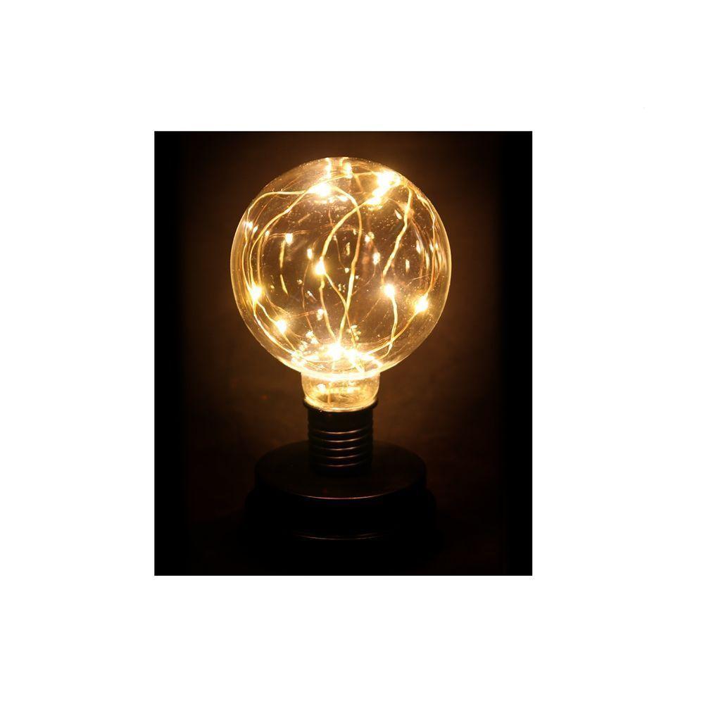 lampe ampoule fil lumineux. Black Bedroom Furniture Sets. Home Design Ideas