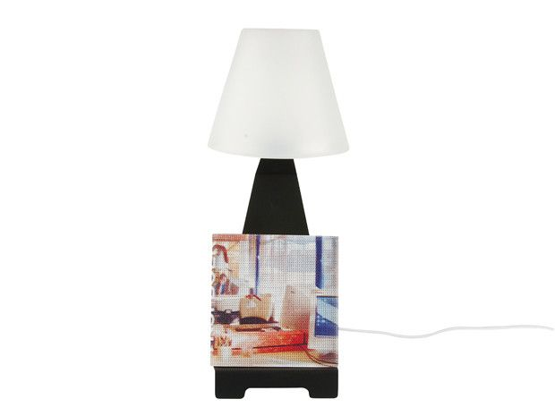 Lampe de chevet support tablette-6