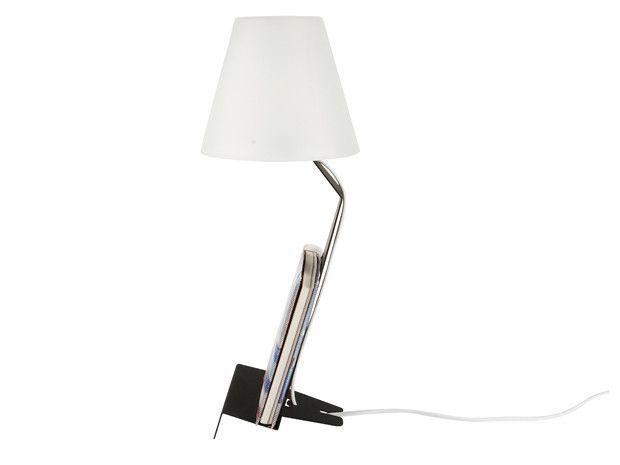 Lampe de chevet support tablette-7