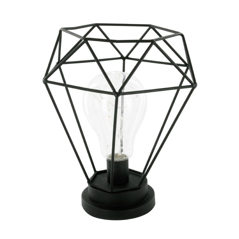 lampe filaire diamant. Black Bedroom Furniture Sets. Home Design Ideas