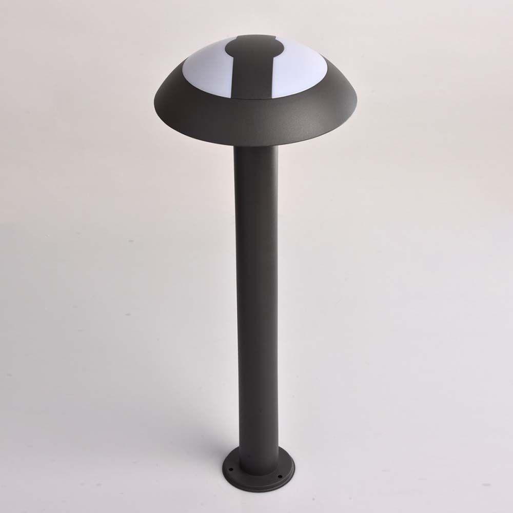 Lampe de jardin moderne graphite for Lampe jardin