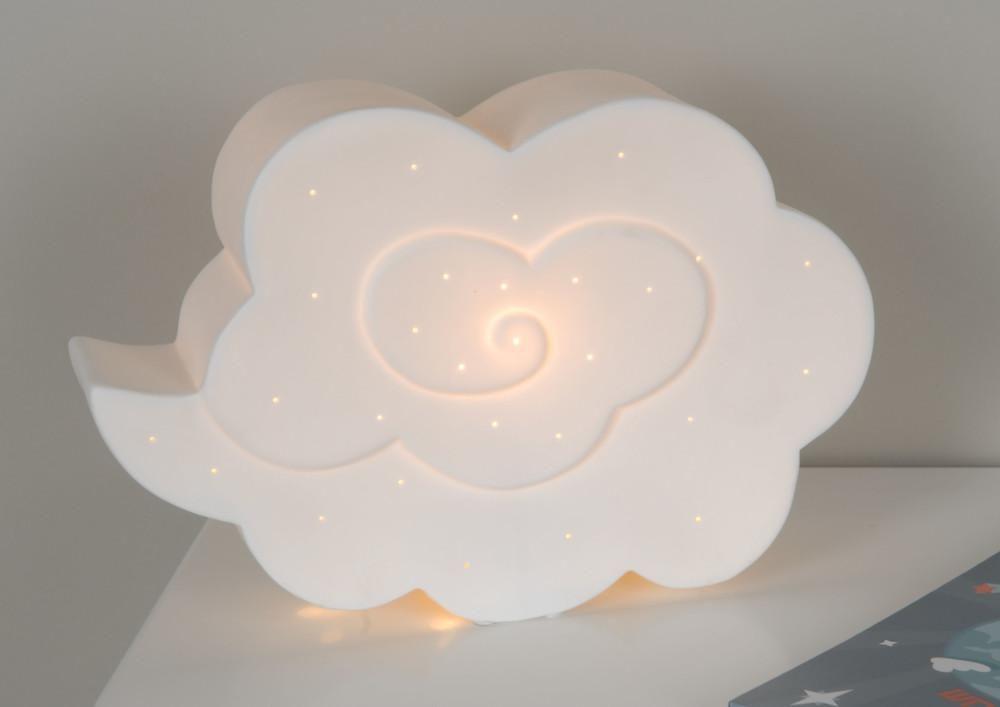 lampe originale nuage en porcelaine. Black Bedroom Furniture Sets. Home Design Ideas