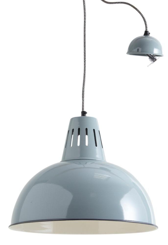 suspension lampe suspension fusta avec abatjour blanc et rail pour dporter la lampe faro with. Black Bedroom Furniture Sets. Home Design Ideas