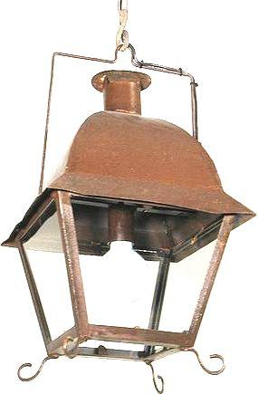 lanterne suspendre isle saint louis en fer forg 36x36x62 cm. Black Bedroom Furniture Sets. Home Design Ideas